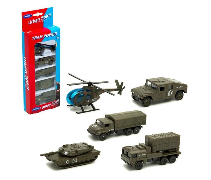 Welly Игровой набор Военная техника 5 шт. от Welly