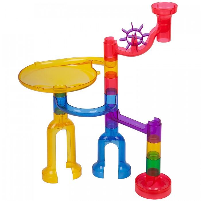 Купить Развивающие игрушки, Развивающая игрушка Bondibon Динамический конструктор Разноцветный лабиринт (36 деталей)