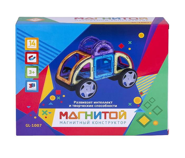 Купить Конструкторы, Конструктор Магнитой магнитный Машинка (14 деталей) GL-1007