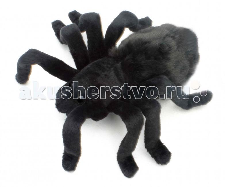Мягкие игрушки Hansa Тарантул черный 19 см hansa мягкая игрушка медведь черный