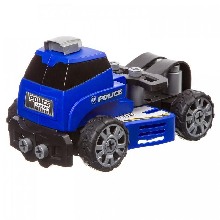 Сборные модели Bondibon Машинка с отверткой Мчс 5 в 1 (52 детали)