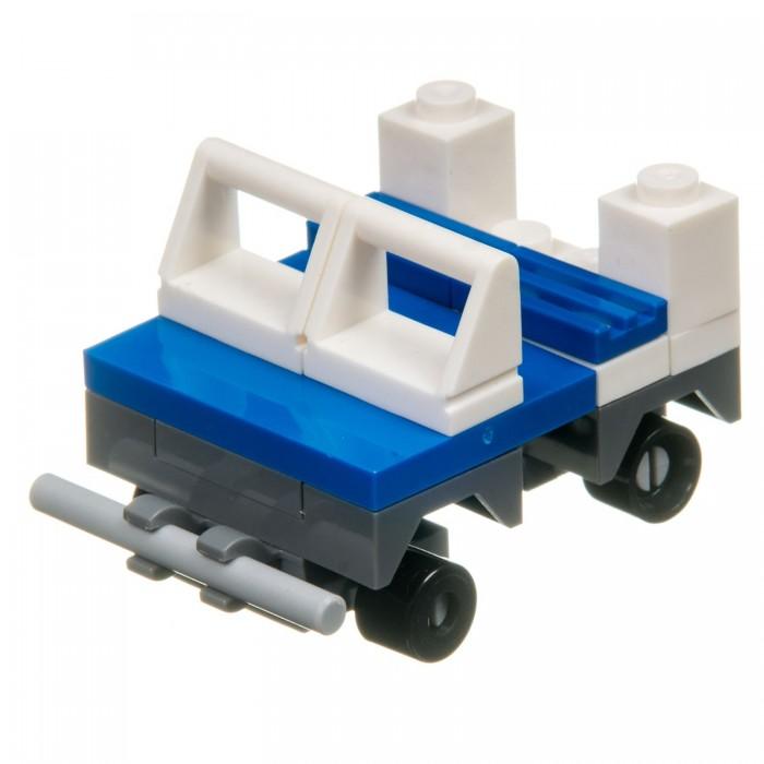 Фото - Сборные модели Bondibon Полицейский патруль Машина 2 в 1 (22 детали) конструктор машина на радиоуправлении в ассортименте 443 детали