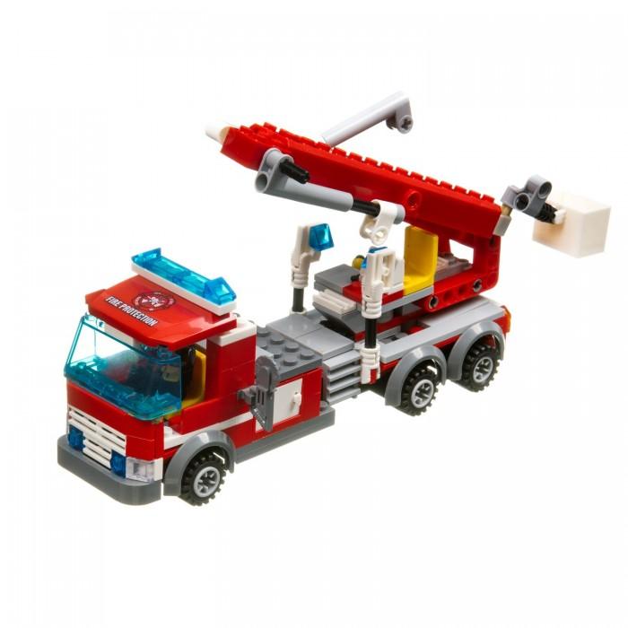 Фото - Сборные модели Bondibon Пожарная служба Машина (244 детали) конструктор машина на радиоуправлении в ассортименте 443 детали