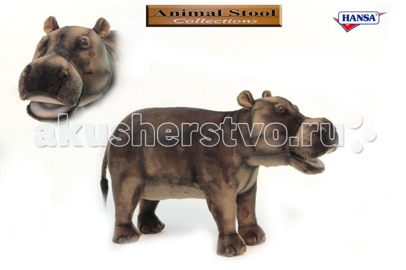 Мягкая игрушка Hansa Бегемот 80 см
