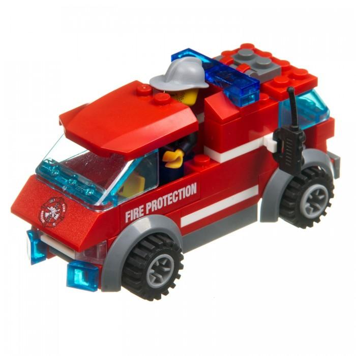 Фото - Сборные модели Bondibon Пожарная служба Машина (83 детали) конструктор машина на радиоуправлении в ассортименте 443 детали