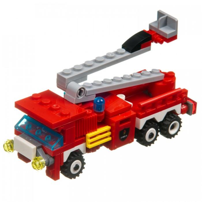 Фото - Сборные модели Bondibon Пожарная служба Машина (103 детали) конструктор машина на радиоуправлении в ассортименте 443 детали