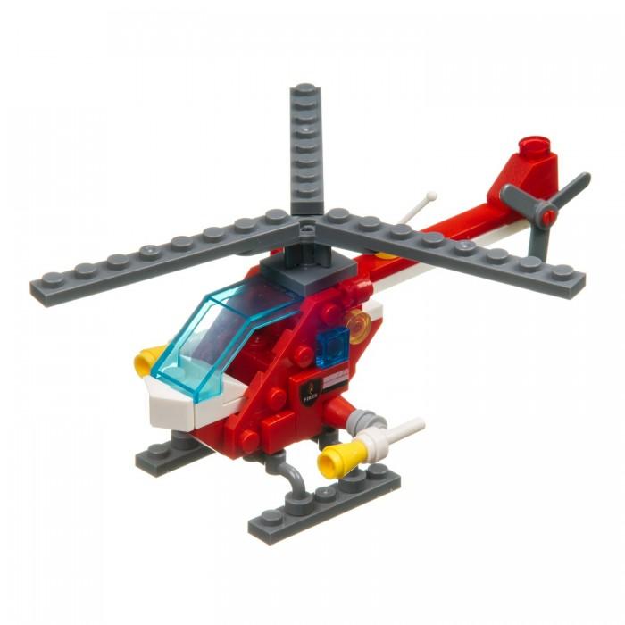 Сборные модели Bondibon Пожарная служба Вертолет (72 детали)