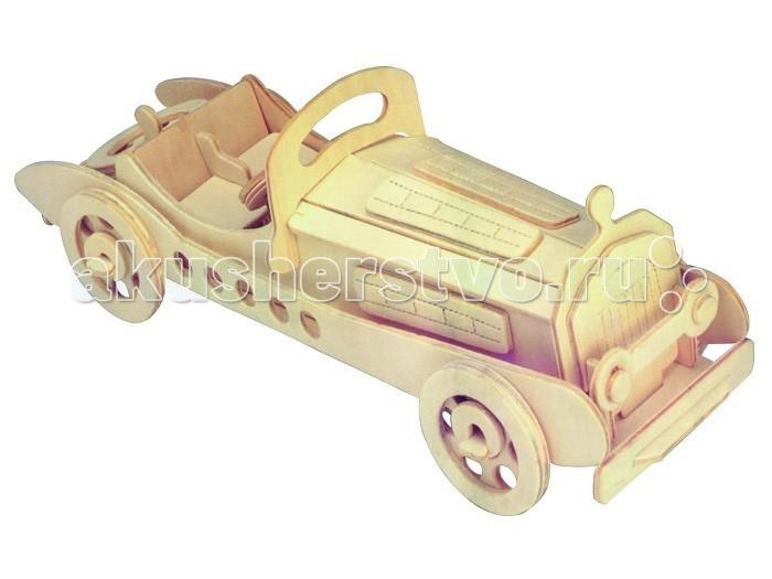 Конструкторы Мир деревянных игрушек (МДИ) Сборная модель Мерседес купить автомобиль мерседес в германии