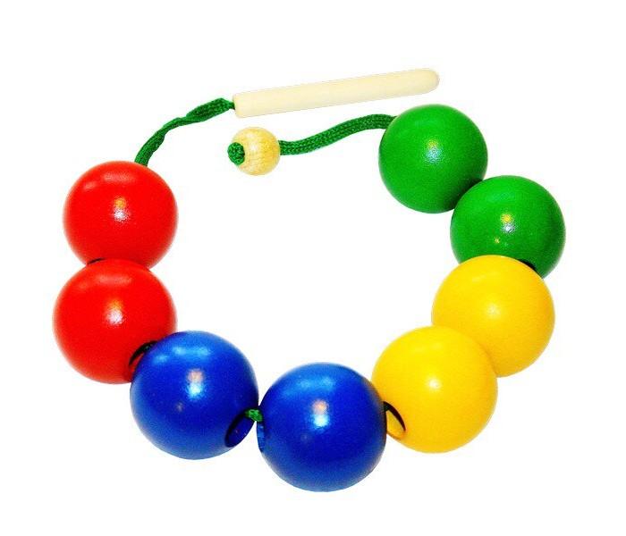 Деревянные игрушки RNToys Бусы шары цветные 8 шт. ольга алексеева рябиновые бусы
