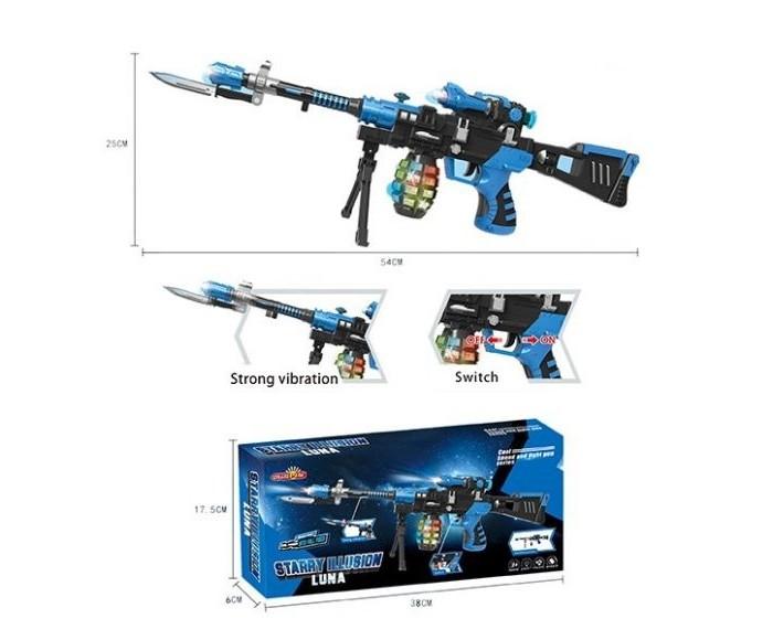 Игрушечное оружие Наша Игрушка Автомат электронный со светом и звуком
