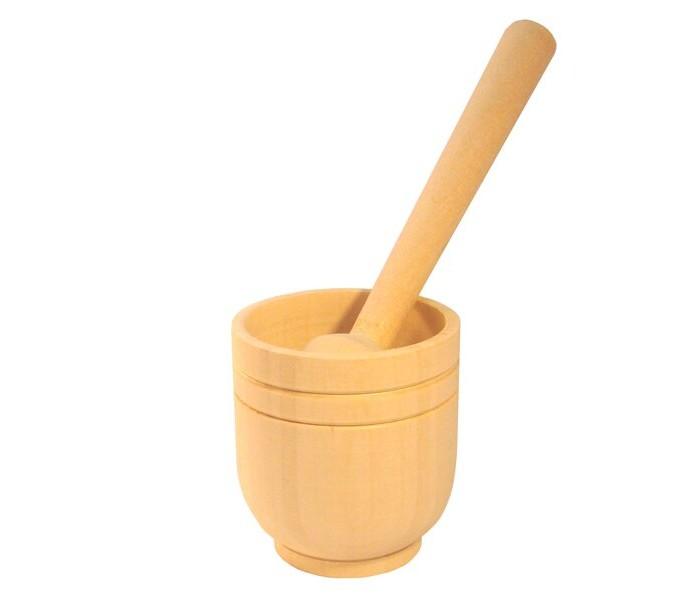 Деревянные игрушки RNToys Кухонный набор Ступка и пестик