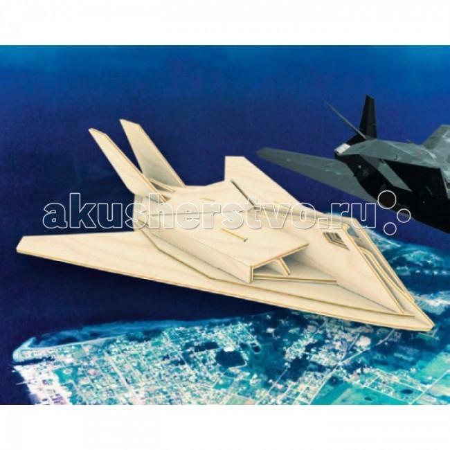 Конструкторы Мир деревянных игрушек (МДИ) Сборная модель Самолет F117 бюсси м самолет без нее