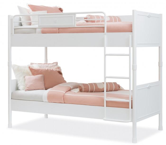 Купить Кровати для подростков, Подростковая кровать Cilek двухъярусная Romantica