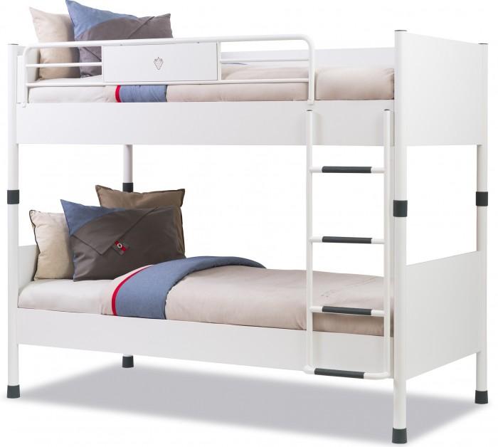 Кровати для подростков Cilek двухъярусная White