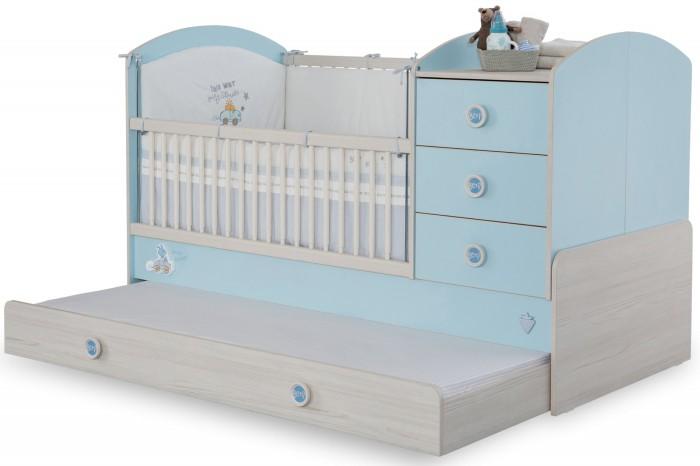 Купить Кроватки-трансформеры, Кроватка-трансформер Cilek Baby Boy 130х80/180х80 см