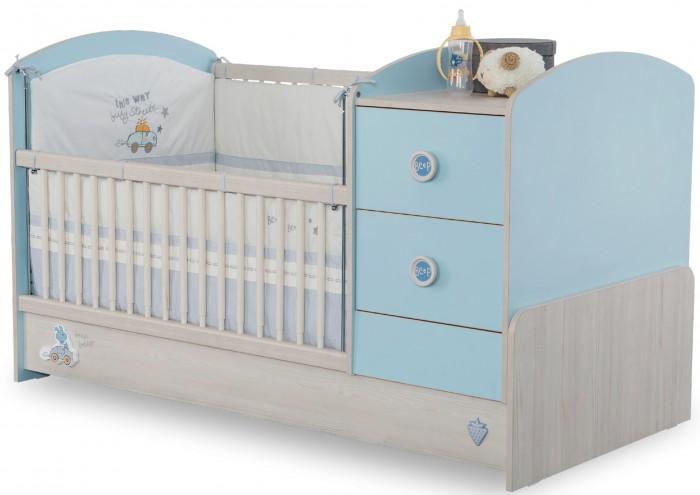Купить Кроватки-трансформеры, Кроватка-трансформер Cilek Baby Boy 160х75 см