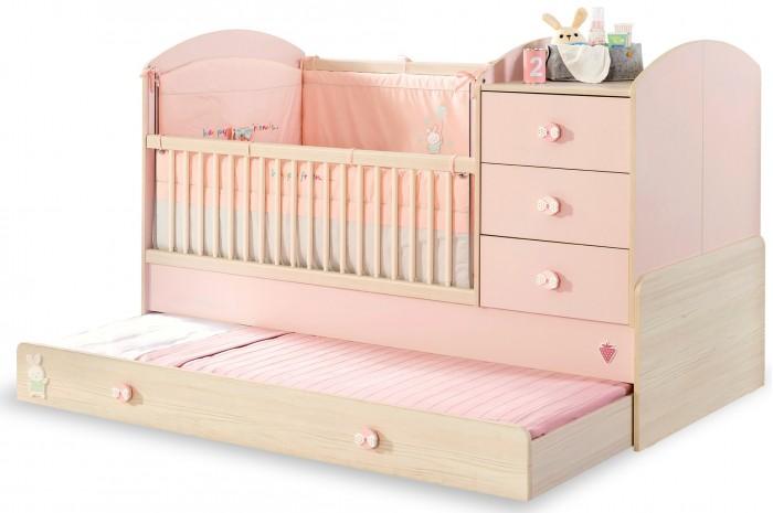Купить Кроватки-трансформеры, Кроватка-трансформер Cilek Baby Girl 130х80/180х80 см