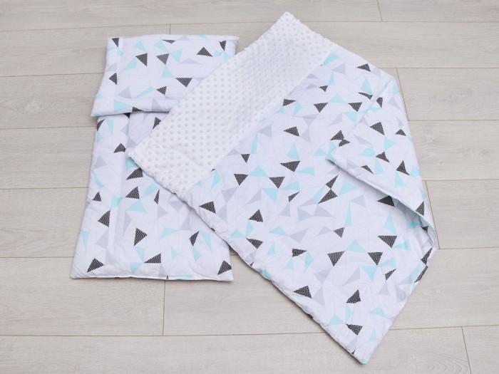 Картинка для Комплекты в коляску AmaroBaby Комплект в коляску Exclusive Soft Collection Треугольники