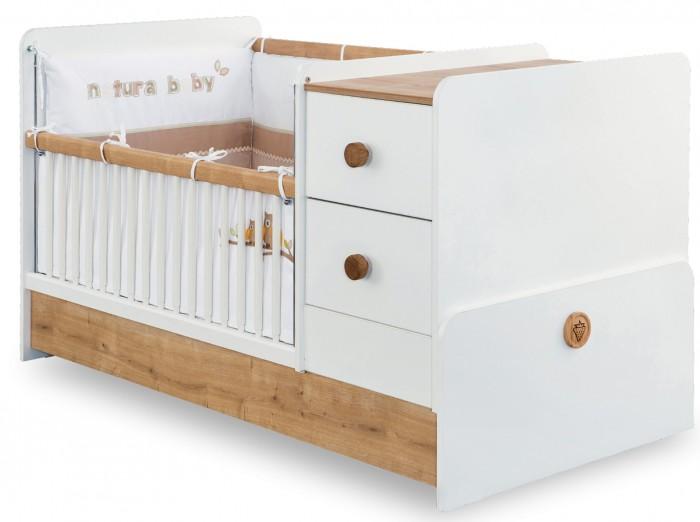 Купить Кроватки-трансформеры, Кроватка-трансформер Cilek Natura Baby 160х75 см