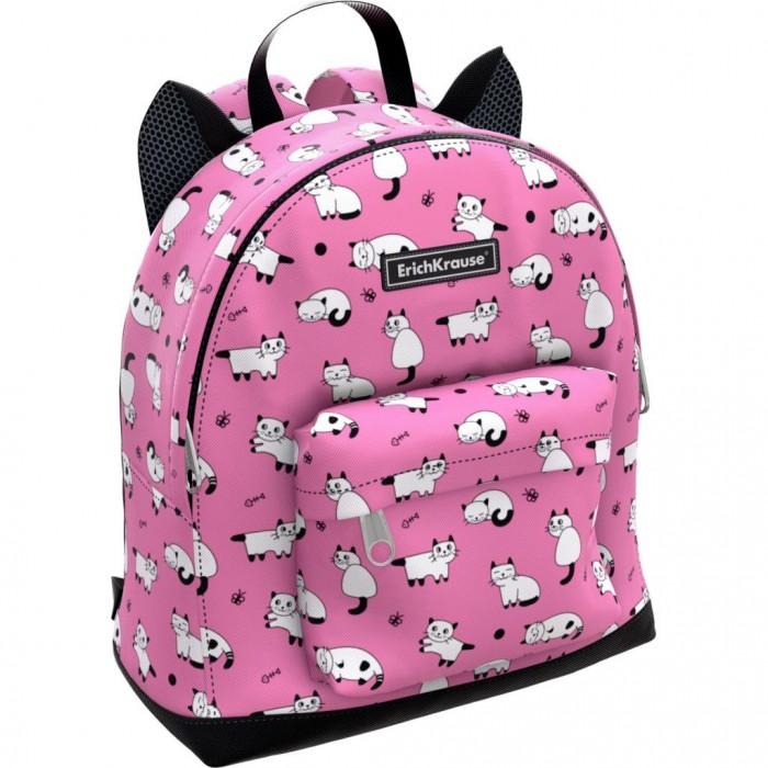 Купить Школьные рюкзаки, Erich Krause Рюкзак EasyLine Mini Animals Cats 6 л