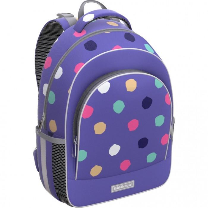 Купить Школьные рюкзаки, Erich Krause Ученический рюкзак ErgoLine Dots 15 л