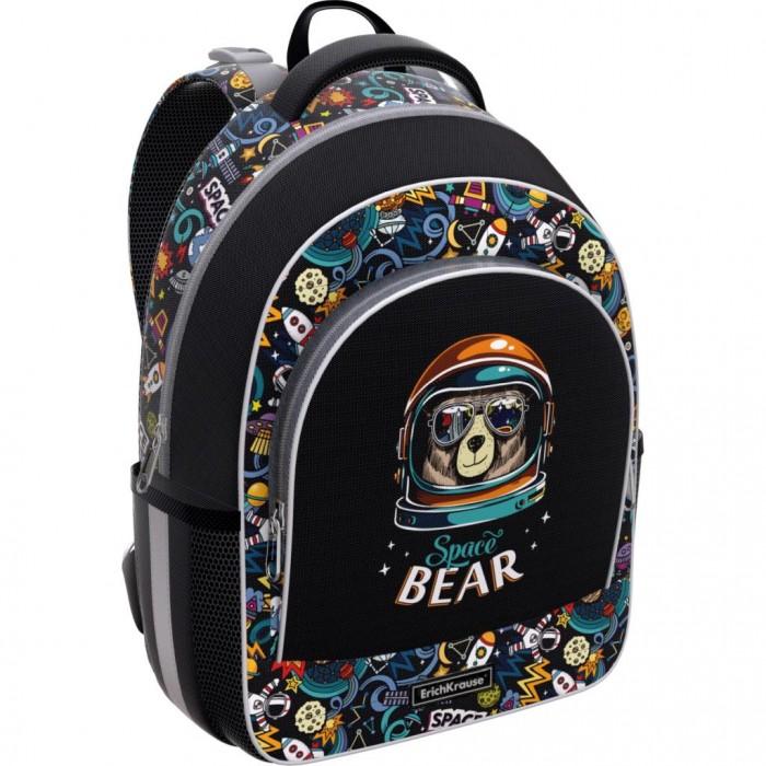 Купить Школьные рюкзаки, Erich Krause Ученический рюкзак ErgoLine Space Bear 15 л