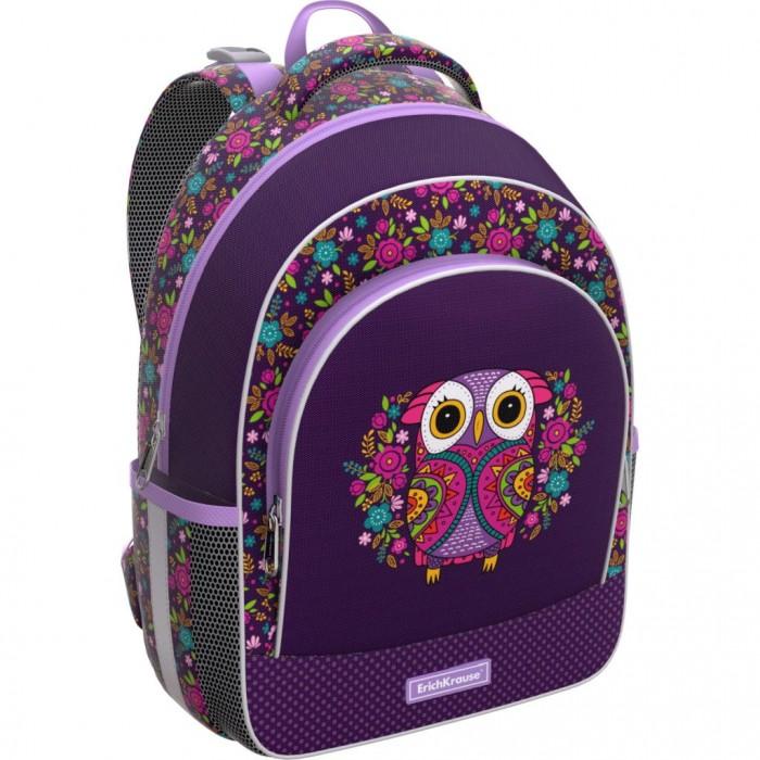 Купить Школьные рюкзаки, Erich Krause Ученический рюкзак ErgoLine Flower Owl 15 л