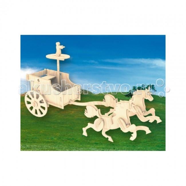 Конструкторы Мир деревянных игрушек (МДИ) Сборная модель Боевая колесница алмазная колесница с иллюстрациями игоря сакурова