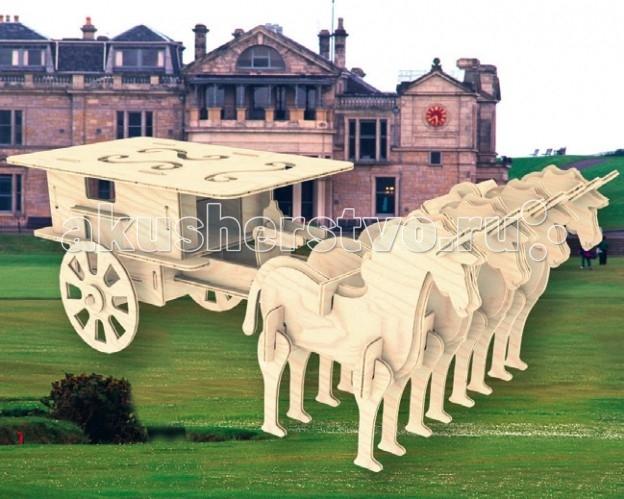 Конструкторы Мир деревянных игрушек (МДИ) Сборная модель Закрытая колесница алмазная колесница с иллюстрациями игоря сакурова