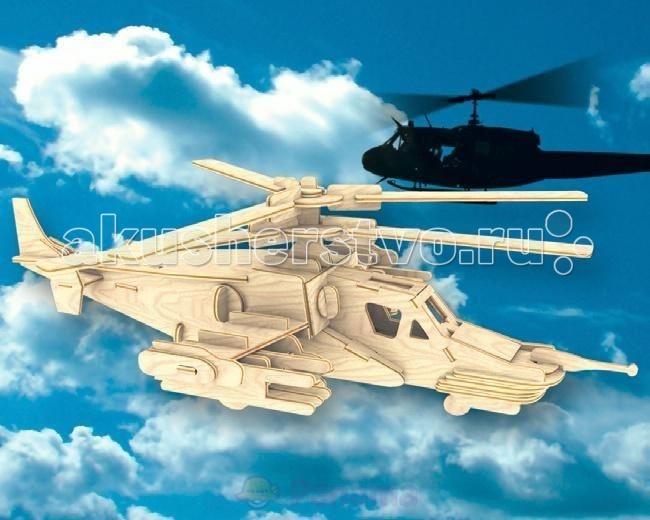 Купить Мир деревянных игрушек Сборная модель Черная Акула Ка-50 в интернет магазине. Цены, фото, описания, характеристики, отзывы, обзоры