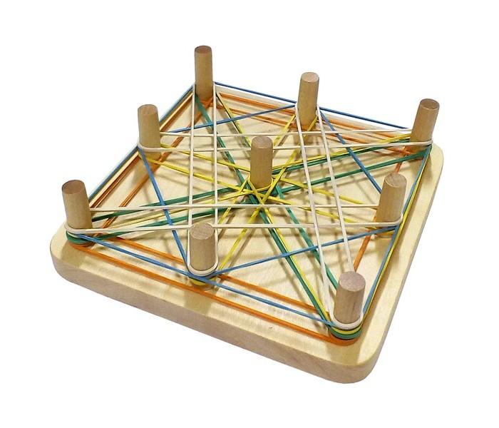 Деревянные игрушки RNToys Математический планшет Квадрат планшет