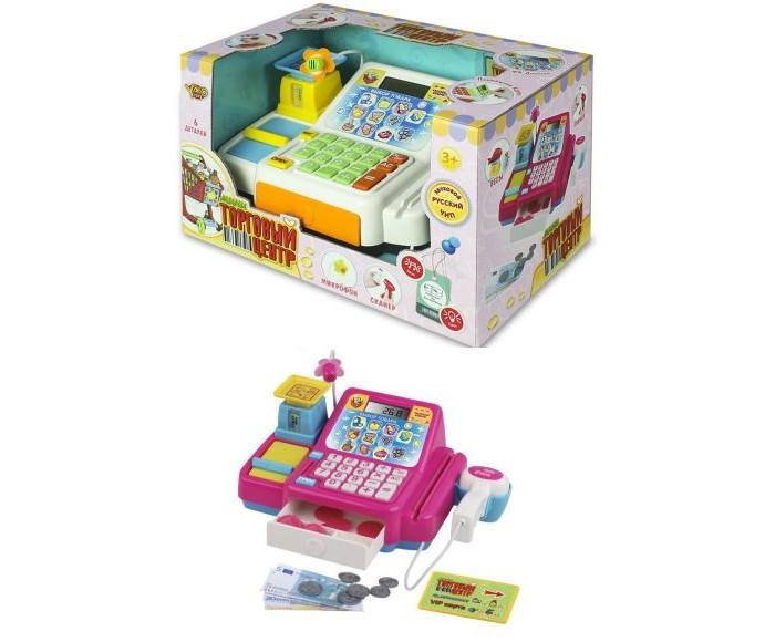 Ролевые игры Наша Игрушка Кассовый аппарат Торговый центр (6 предметов)