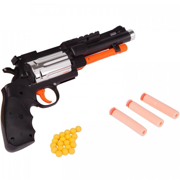 Фото - Игрушечное оружие Bondibon Оружие с мягкими пульками Револьвер 2 в 1 игрушечное оружие bondibon оружие с мягкими пульками револьвер 2 в 1