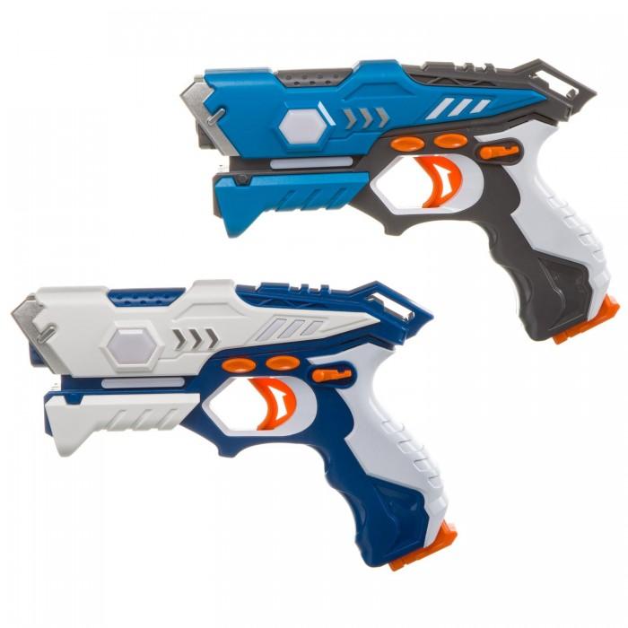 Купить Игрушечное оружие, Bondibon Игровой набор на батарейках Лазер-Жук 2 космических ик-бластера