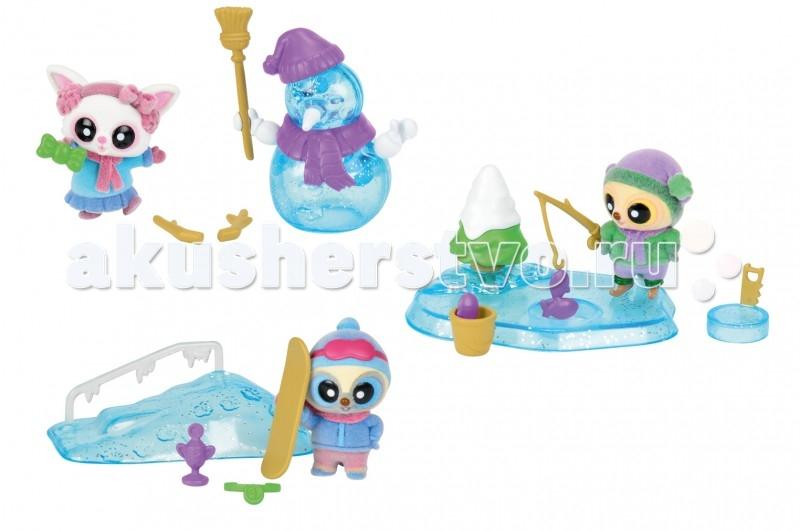 Игровые фигурки Simba YooHoo&Friends Зима фигурки игрушки prostotoys пупсень серия лунтик и его друзья