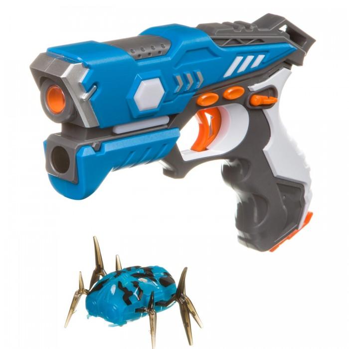 Купить Игрушечное оружие, Bondibon Игровой набор на батарейках Лазер-Жук с ик-бластером и жуком-мишенью
