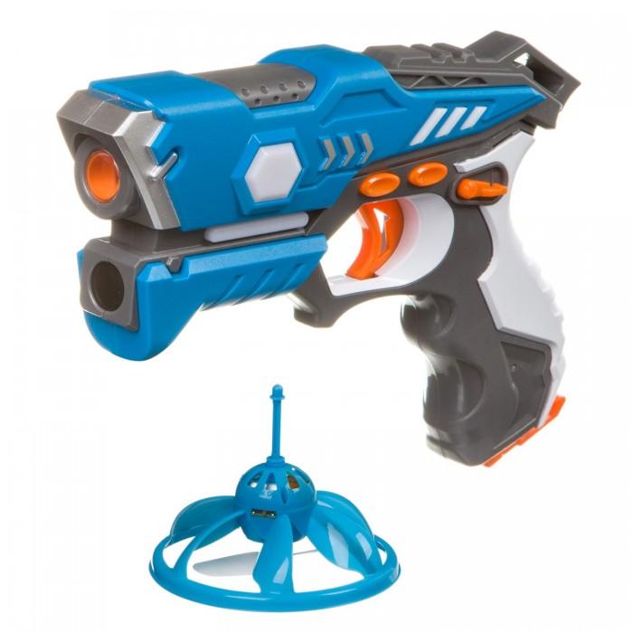 Купить Игрушечное оружие, Bondibon Игровой набор на батарейках Лазер-Жук с ик-бластером и Нло-мишенью