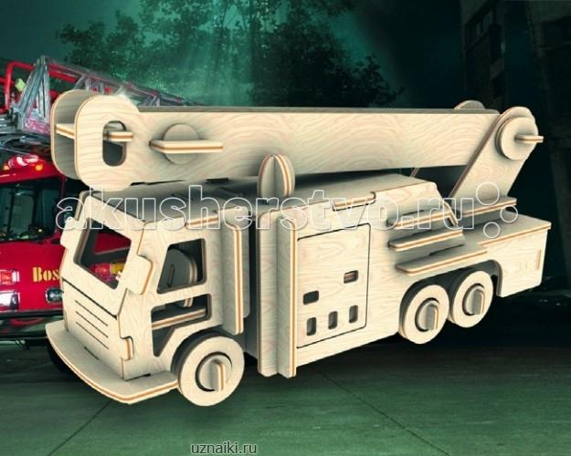 Конструкторы Мир деревянных игрушек Сборная модель Пожарная машина мир деревянных игрушек сборная модель пожарная машина