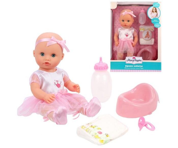 Купить Куклы и одежда для кукол, Mary Poppins Кукла функциональная Mary-балерина Уроки заботы коллекция Корона 36 см
