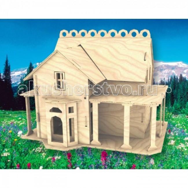 Конструкторы Мир деревянных игрушек (МДИ) Сборная модель Вилла сборная модель из картона вилла в везине