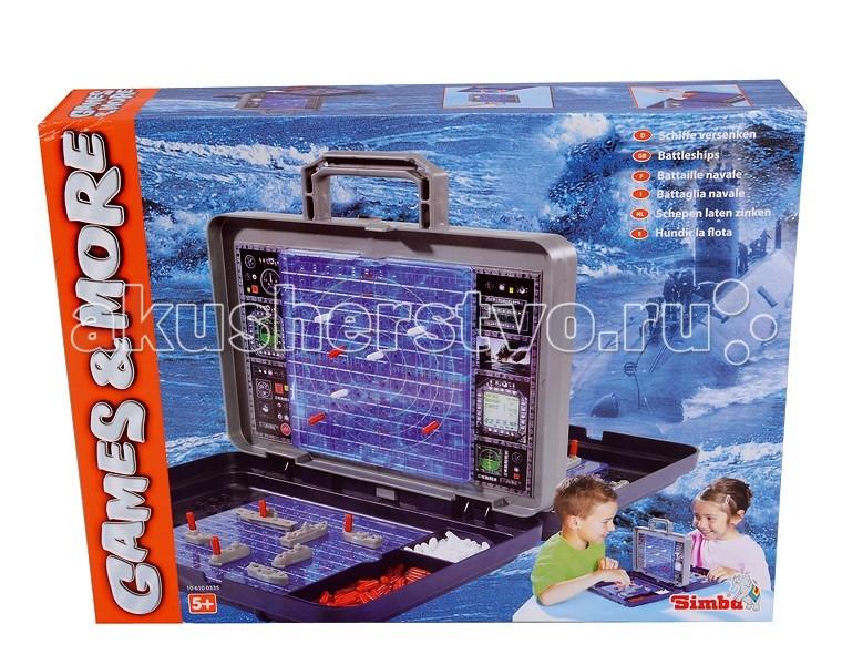 Настольные игры Simba Морской бой  цена