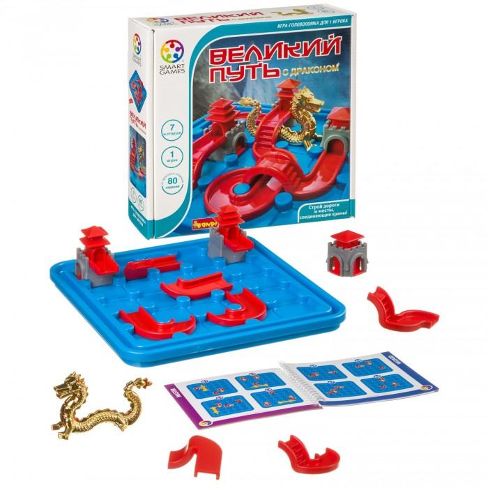 Купить Настольные игры, Bondibon Smartgames логическая игра Великий путь с драконом