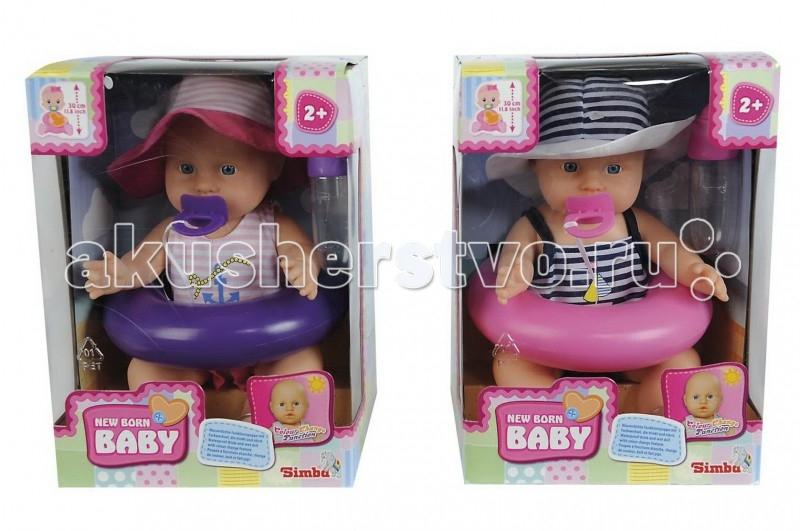 Куклы и одежда для кукол Simba Пупс в плавательном костюме 30 см куклы и одежда для кукол vestida de azul оливия в розовом костюме 30 см