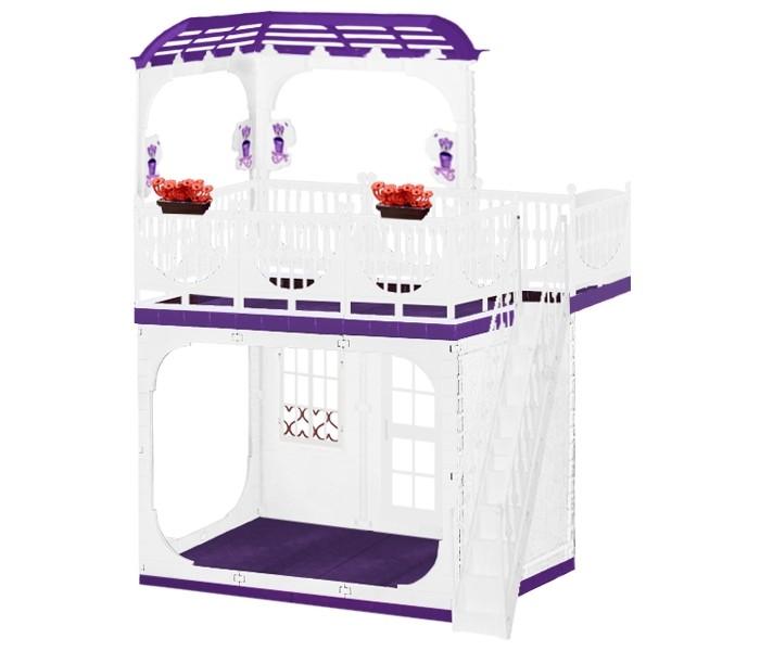 Огонек Дом для кукол Barbie (Барби) Конфетти С-1334 без мебелиДом для кукол Barbie (Барби) Конфетти С-1334 без мебелиОгонек Дом для кукол Barbie (Барби) Конфетти С-1334 без мебели. Частично открытый, без закрывающихся лицевых фасадов, дом для кукол поделен на правильные с точки зрения комфортной и правильной жизни зоны, есть можно в столовой, принимать гостей – в гостиной, а спать, соответственно, в спальне.   Устраивать романтические вечера и просто дружеские вечеринки можно на крыше.  В кукольном мире всегда тепло, светло и весело.   В комплекте: дом  цветники инструкция.<br>