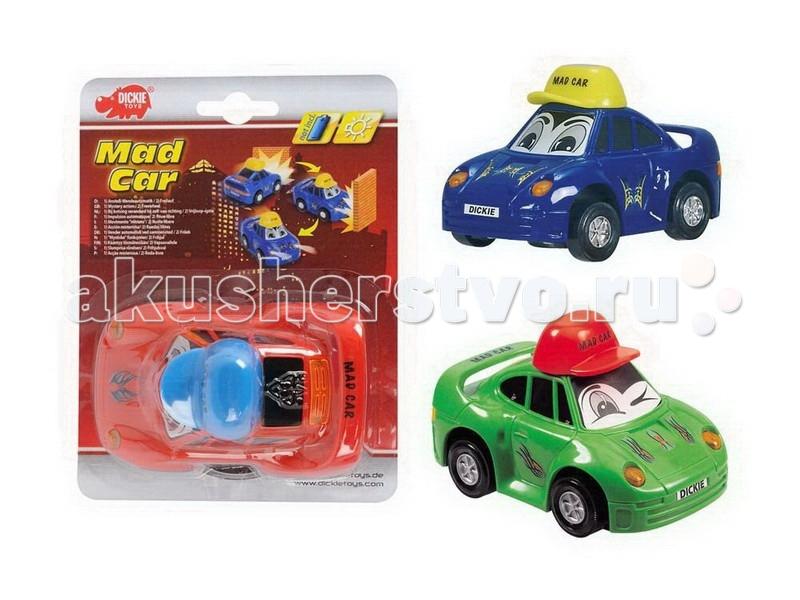 Машины Dickie Веселая машинка 12 см радиоуправляемые игрушки dickie радиоуправляемая машинка финн