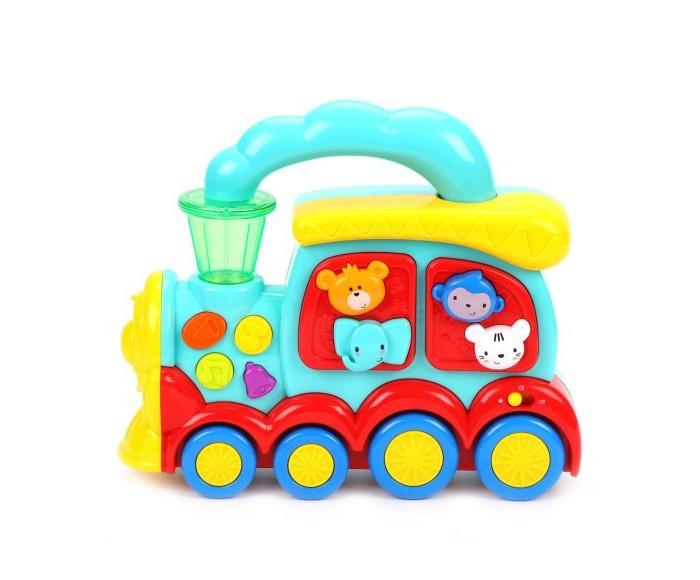Купить Электронные игрушки, Жирафики Музыкальная игрушка Веселый паровозик