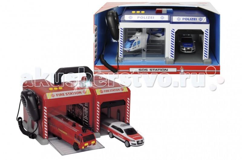 Игровые наборы Dickie Спасательная станция коврик спасательная станция 4 вида