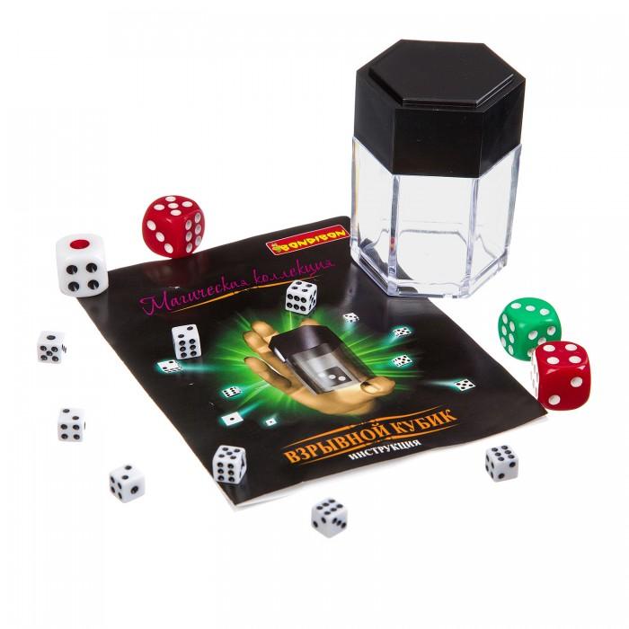 Наборы для фокусов Bondibon Игровой набор Магическая коллекция Взрывной кубик