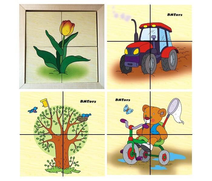 Деревянные игрушки RNToys Весна