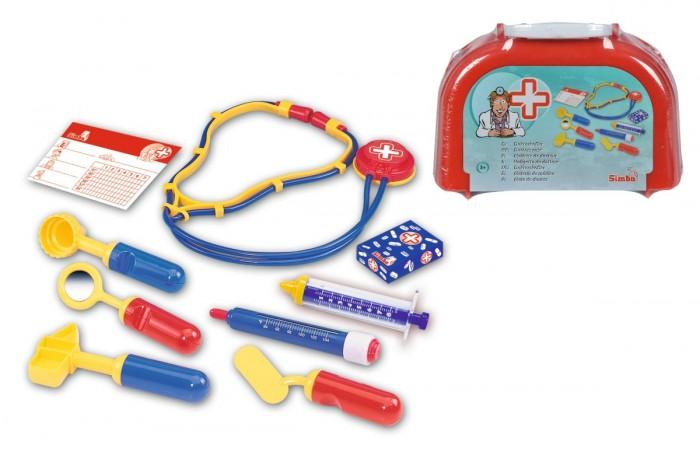 Ролевые игры Simba Игровой набор в чемоданчике доктора 10 предметов ролевые игры keenway игровой набор в чемоданчике врача
